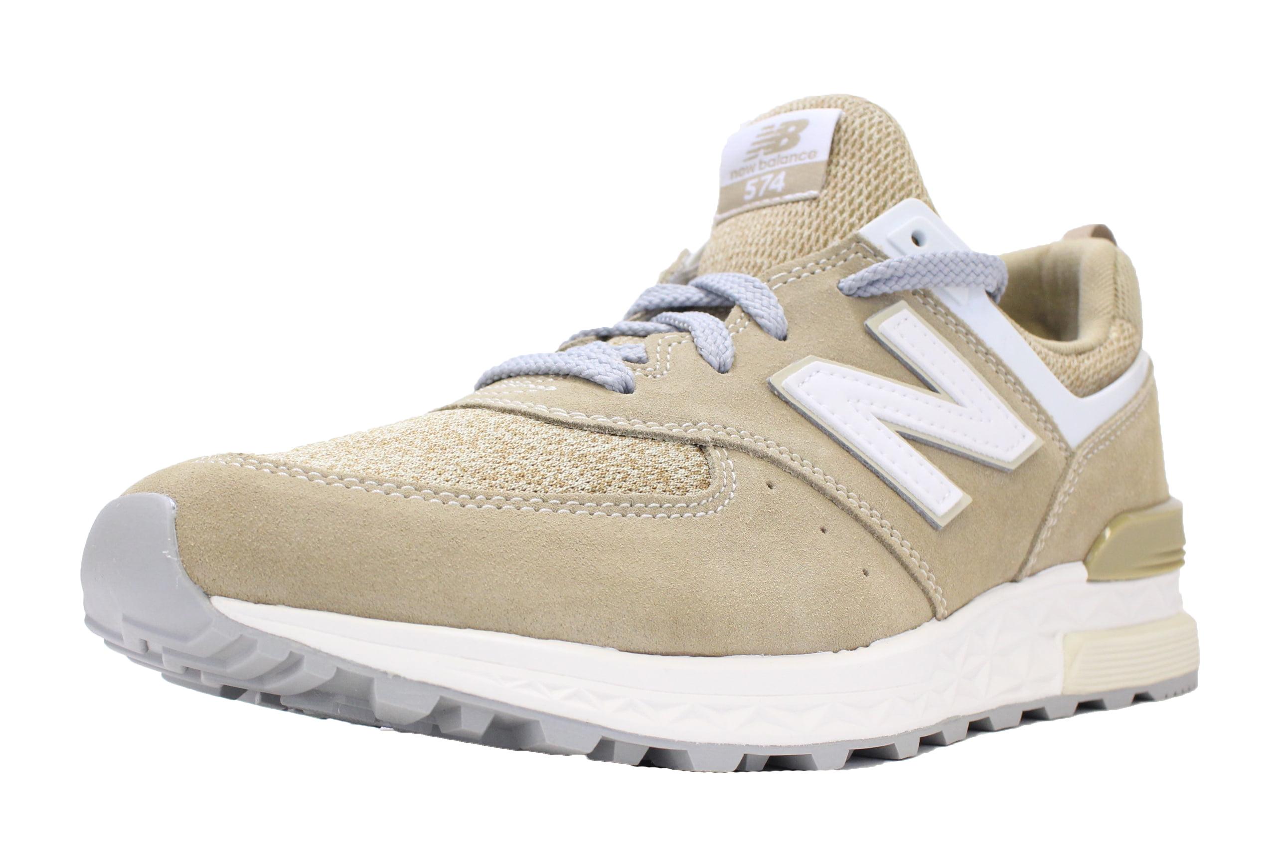 ecbaaf1923286 ... low price new balance 574 sport sz 8 beige white off white tan suede  fresh foam