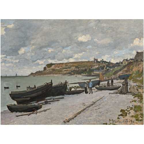 "Trademark Fine Art ""Sainte-Adresse"" 1867 Canvas Art by Claude Monet"
