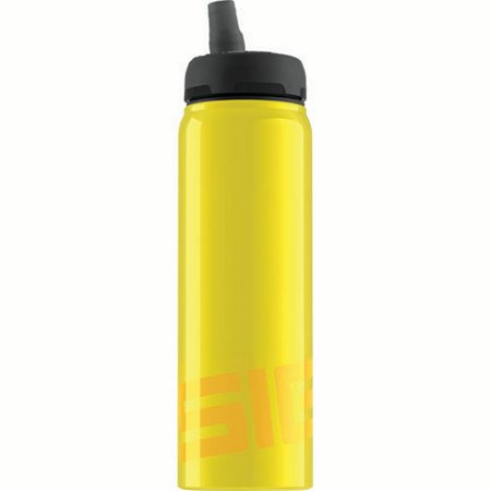 Sigg Water Bottle - Nat Yellow - .75 Liters Water Bottles](Yellow Water Bottle)