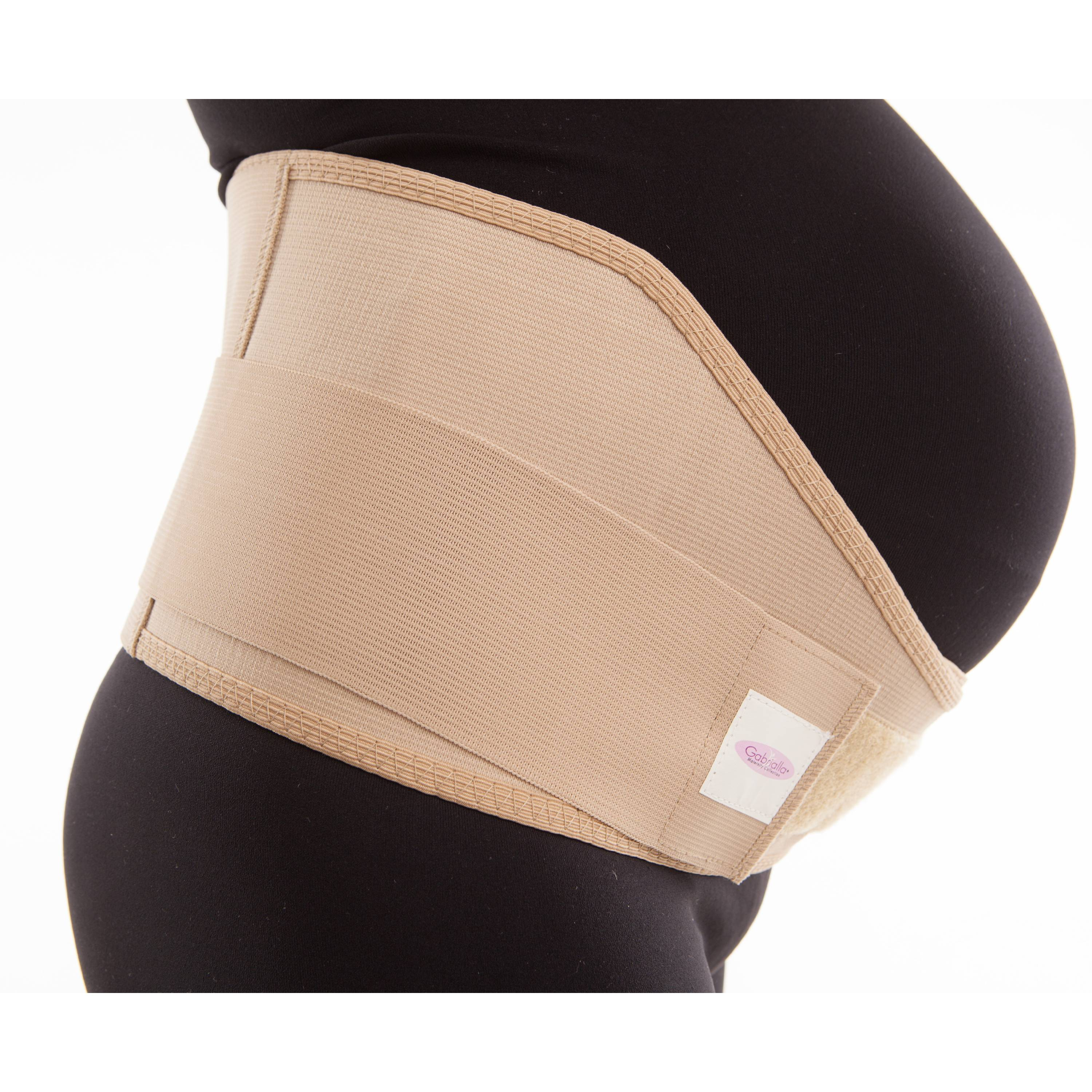 Maternity Medium Support Belly Abdomen and Back Breathable Pregnancy Support Belt for Active Moms MS-96