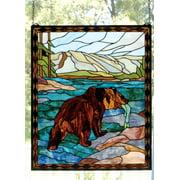 Meyda Tiffany 72934 Tiffany Tiffany Window From The Deer & Bear Collection