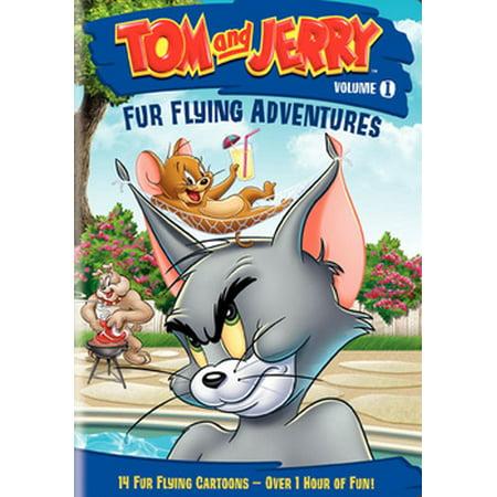 Tom & Jerry: Fur Flying Adventures Vol. 1 (DVD) (Tom Für Männer)