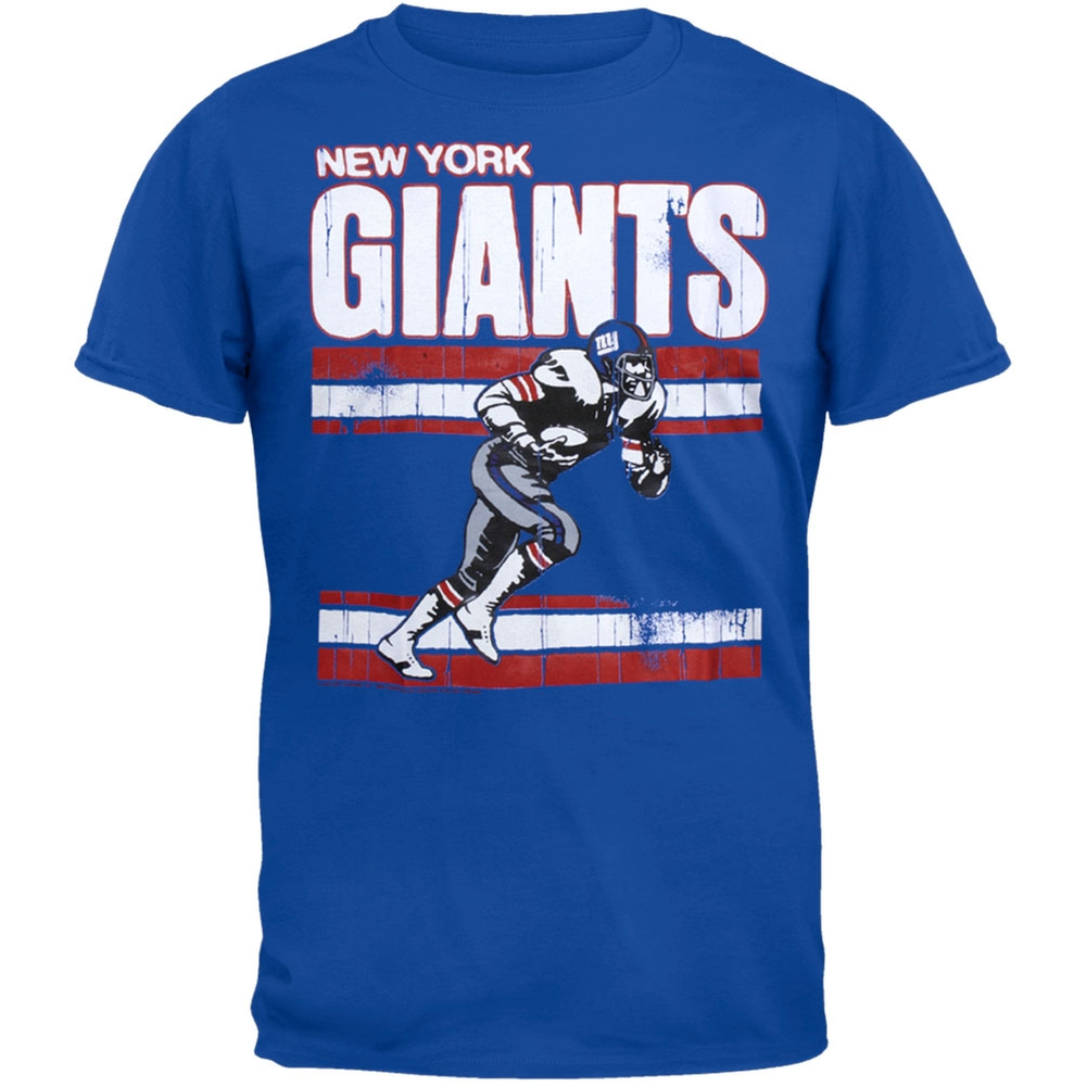 New York Giants - Action Crackle Soft T-Shirt