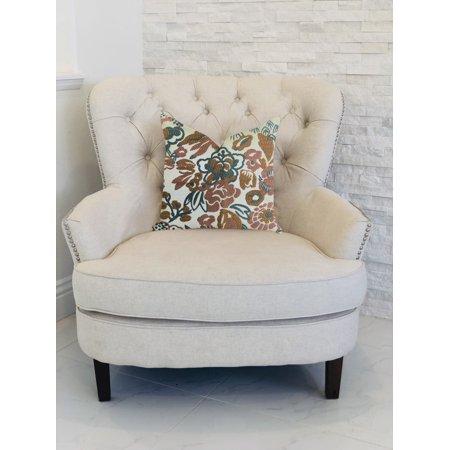 Plutus PBRA1320-2026-DP Floweret Luxury Throw Pillow, 20 x 26 in. Standard - image 2 of 3