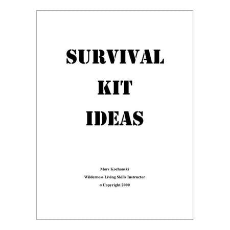 Survival Kit Ideas - eBook (21st Birthday Survival Kit Ideas For Him)