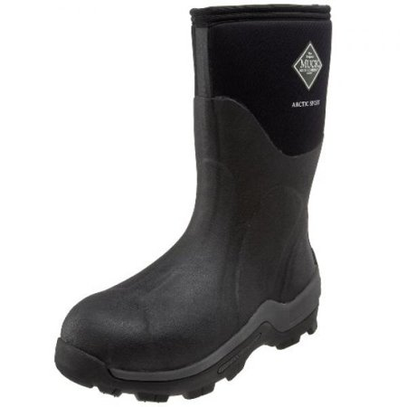 The Original MuckBoots Arctic Sport Mid Outdoor Boot, Black,6 M US Mens/7 M US Womens