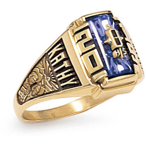 Keepsake Girl's Crest Class Ring