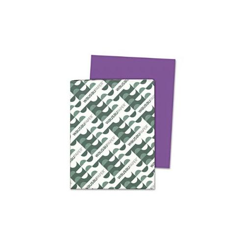 Astrobrights Colored Paper, 24lb, 8-1/2 x 11, Gravity Grape, 500 Sheets/Ream