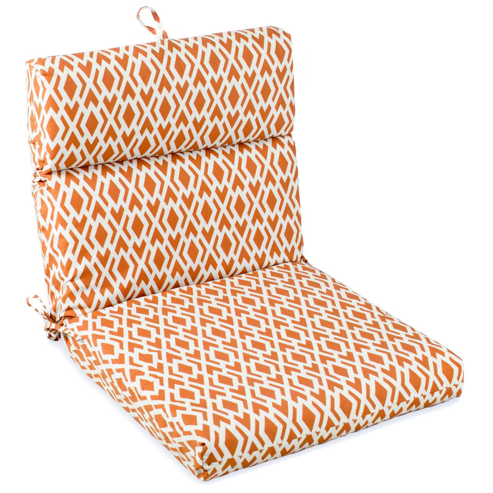 Coral Coast Geo French Edge Outdoor Chair Cushion
