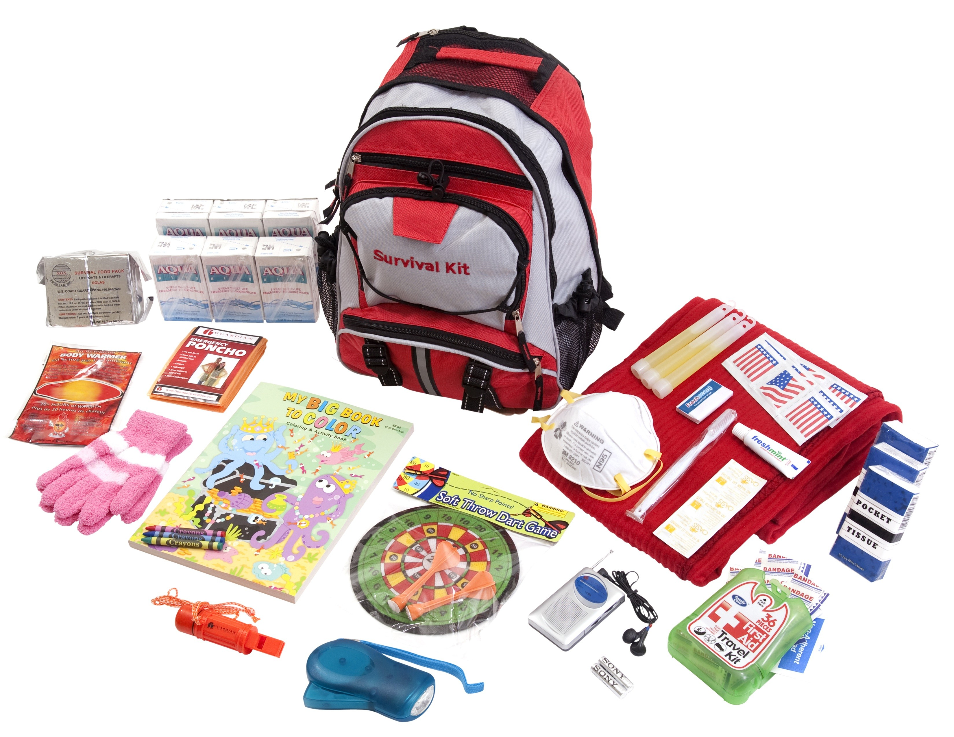 Guardian SKCK Childrens Survival Kit by Guardian Survival Gear