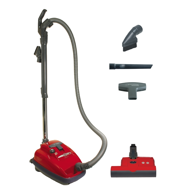 Sebo AIRBELT K3 Canister Vacuum with ET-1 Power Head and Parquet Brush