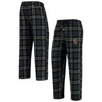 Men's Black/Gray Vegas Golden Knights Ballot Flannel Lounge Pants