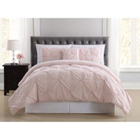 Arrow Pleated Blush Twin Bed in a Bag