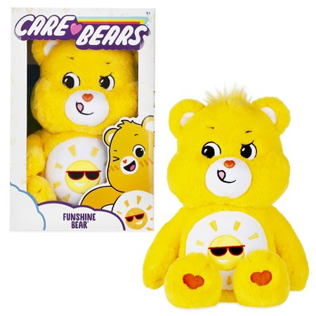 Care Bears Basic Medium Plush - Funshine Bear