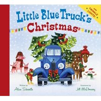Little Blue Trucks Christmas (Board Book)
