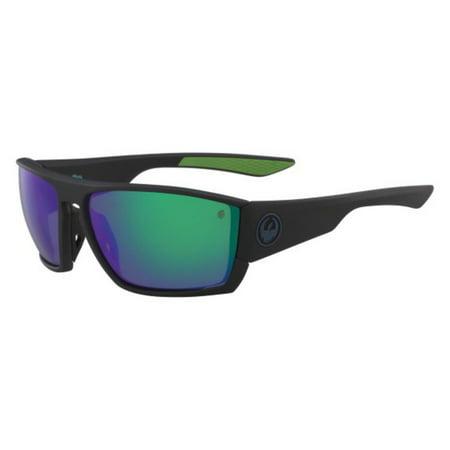 Sunglasses DRAGON DR CUTBACK H 2 O 008 MATTE BLACK-GREEN (Dragon Sunglasses Calavera)