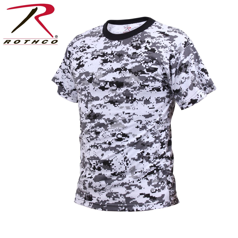 0cf1deb8 Rothco - Digital Camouflage T-shirt, City Digital Camo - Walmart.com