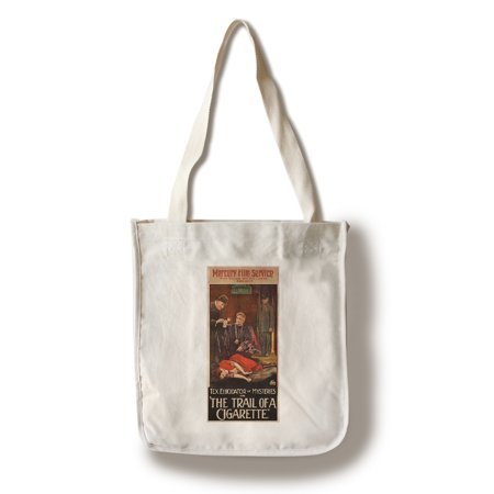 The Trail of a Cigarette Vintage Poster USA c. 1920 (100% Cotton Tote Bag - Reusable)