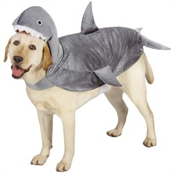 Casual Canine Shark Costume, Small