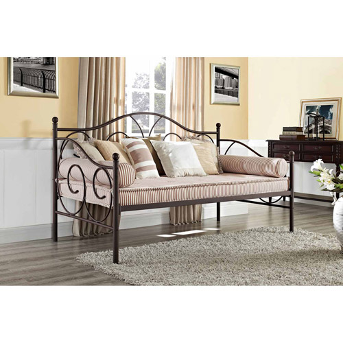 Victoria Metal Daybed, Twin, Multiple Colors