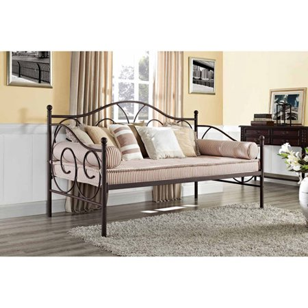 Victoria Metal Daybed, Twin, Multiple Colors - Victoria Metal Daybed, Twin, Multiple Colors - Walmart.com