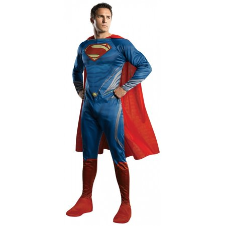 Superman Adult Costume - X-Large - Man Of Steel Dress