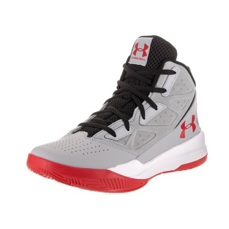 b52c83bc7324 Under Armour - Under Armour Kids BGS Jet Mid Basketball Shoe - Walmart.com