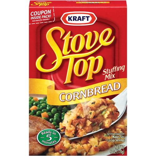 Kraft Cornbread Stove Top Stuffing Mix, 6 oz