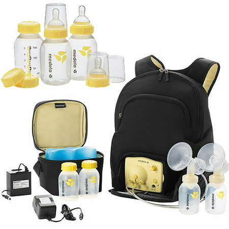 Medela Pump in Style Advanced Breastpump, Backpack with Bonus Bottle Set