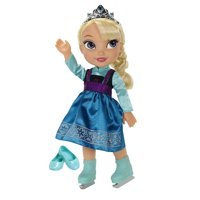 Disney Frozen Elsa with Ice Skating Fashions and Skates Roleplay Set