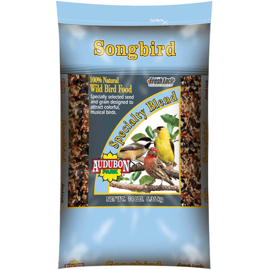 Audubon 12241 14 Lb Songbird Wild Bird Food