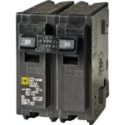 CIRCUIT BREAKER HOM 2P 1IN 20A