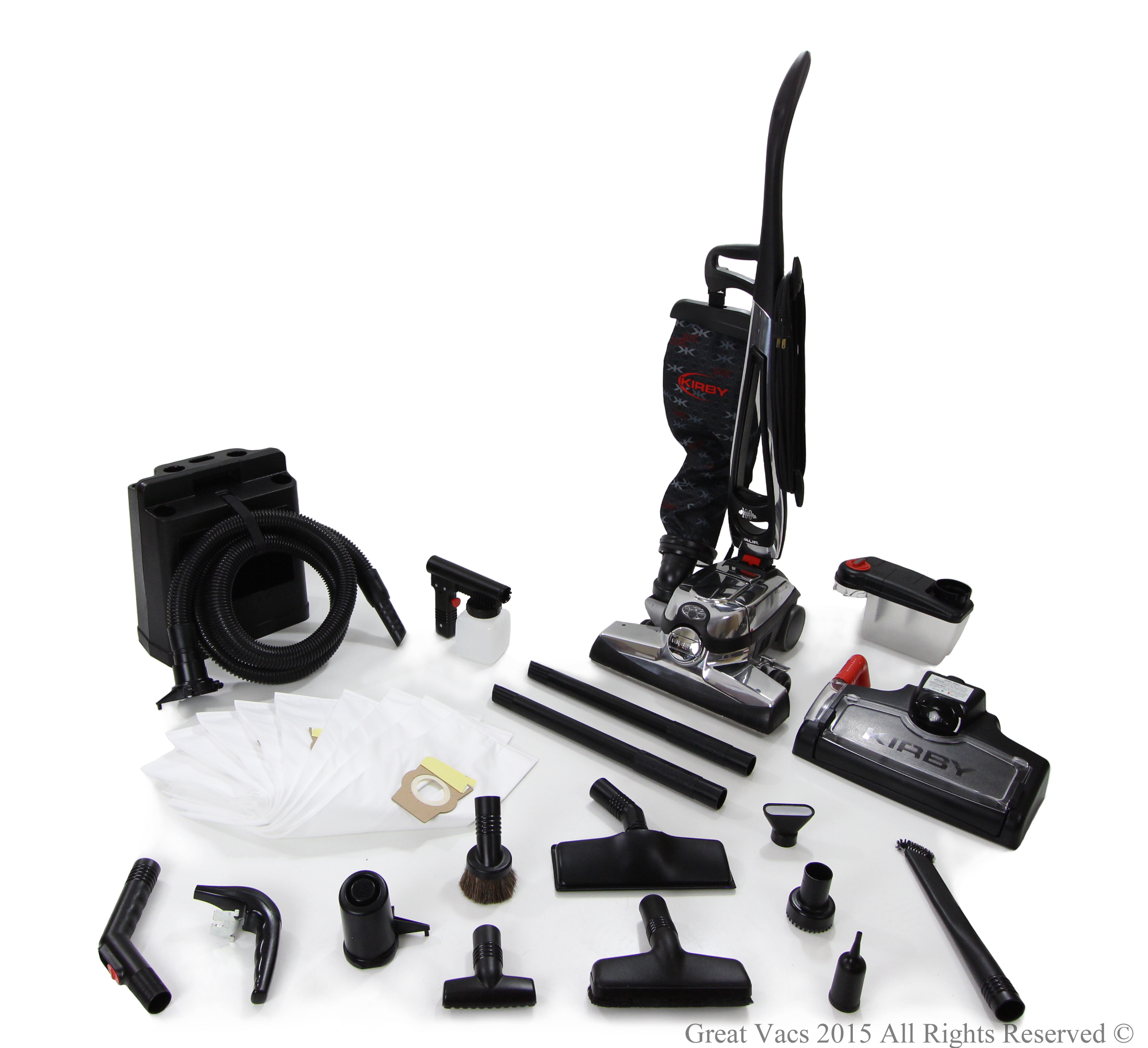 Refurbished Kirby Avalir Vacuum Cleaner Loaded with tools, bags, shampooer Upright G11 Hepa