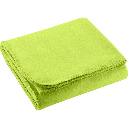 Mainstays Fleece Throw, Lime Green