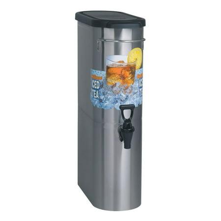 BUNN 39600.0001 3.5 Gallon Narrow Tea Dispenser Bunn Stainless Steel Beverage Dispenser