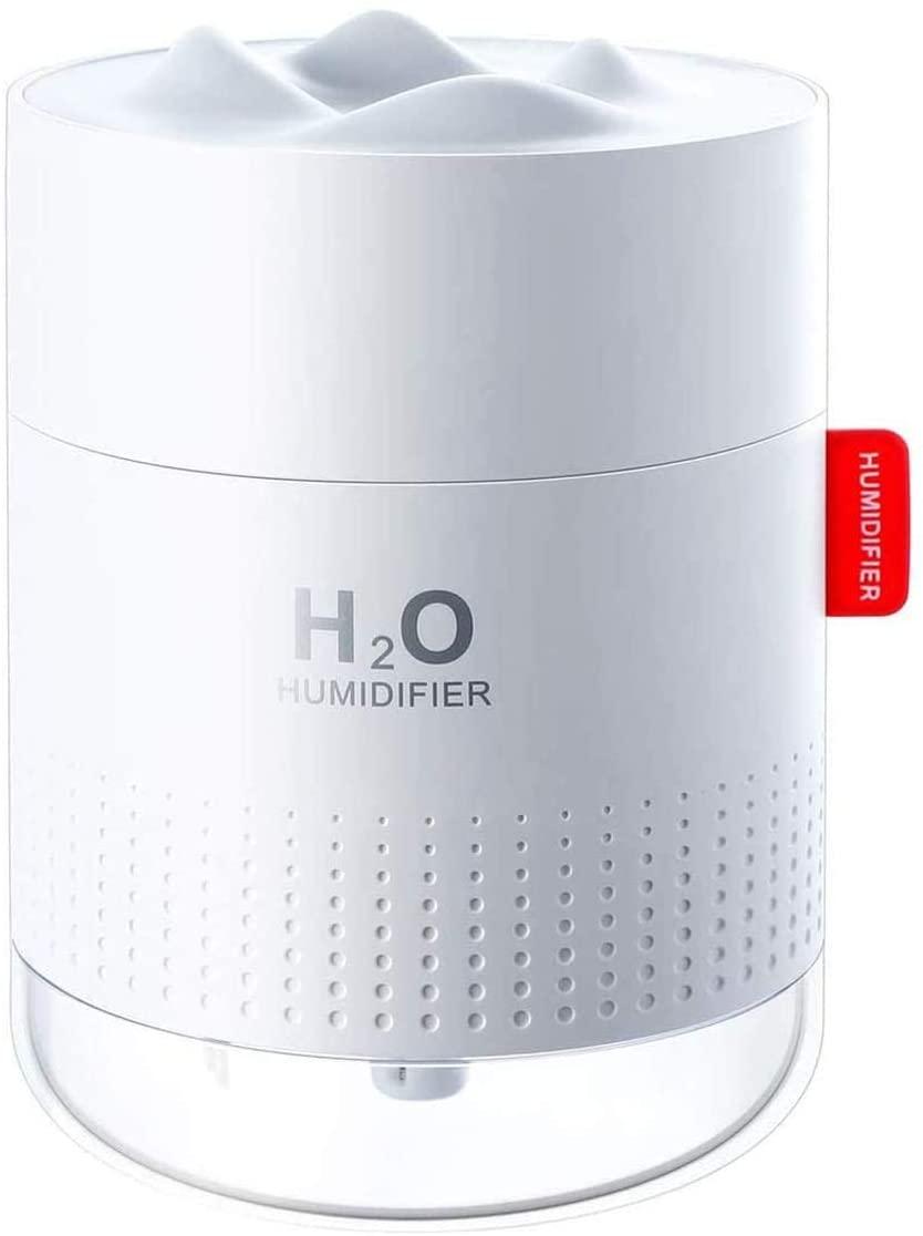 bedroom humidifier 500ml mini ultrasonic air humidifier