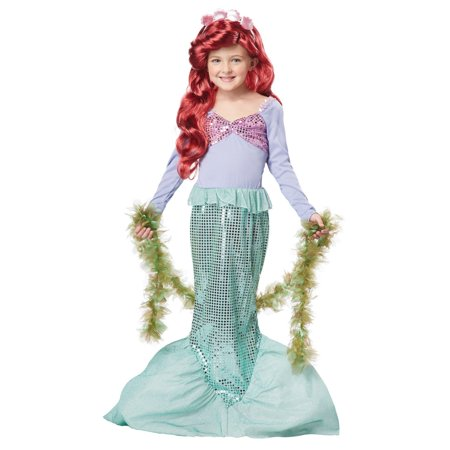 Little Mermaid Child Halloween Costume (The Best Halloween Costumes For Sale)