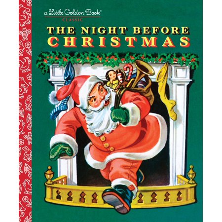 The Night Before Christmas (Hardcover) - Halloween Falls On The Night Before