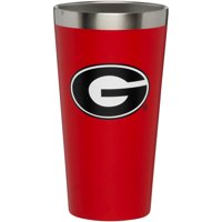 Georgia Bulldogs 16 oz. Matte Finish Pint Cup - No Size