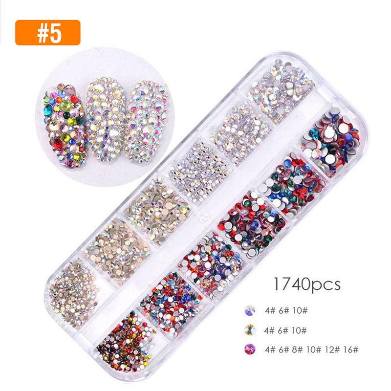 Slide charm with rhinestones pack of 2
