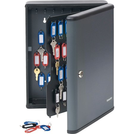 Steelmaster, MMF2017290G2, Security Key Cabinet, 1 / Each, Charcoal