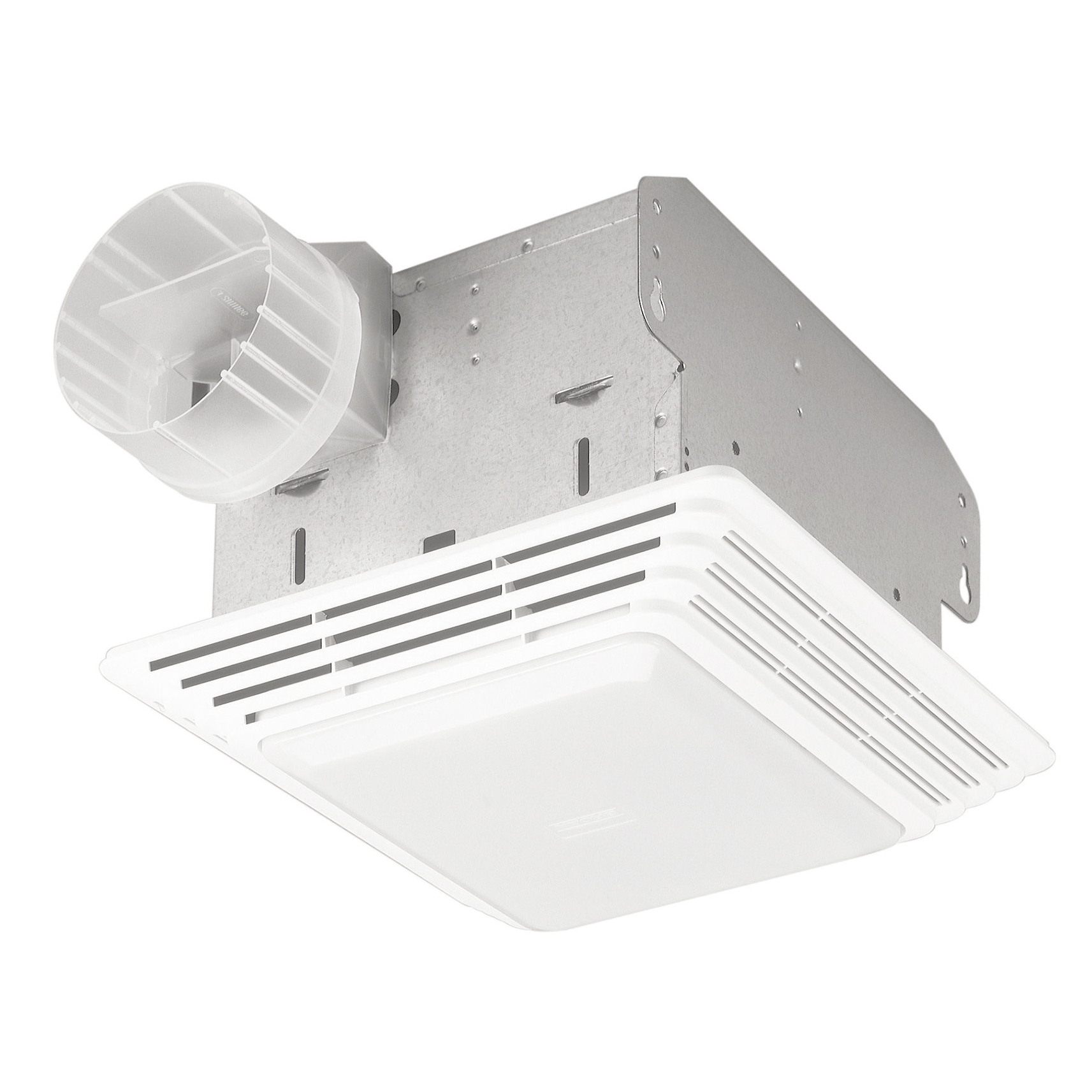 Broan Hd80l 80 Cfm White Heavy Duty Exhaust Fan Light Walmart Com