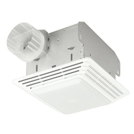 Broan Hd80l 80 Cfm White Heavy Duty Exhaust Fan Light