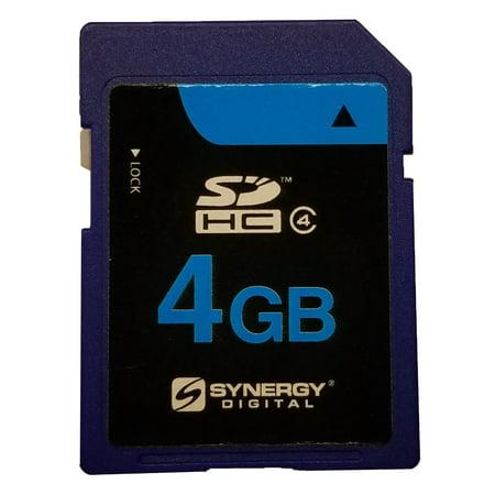 Panasonic Lumix DMC-TZ3 Digital Camera Memory Card 4GB Secure Digital High Capacity (SDHC) Memory