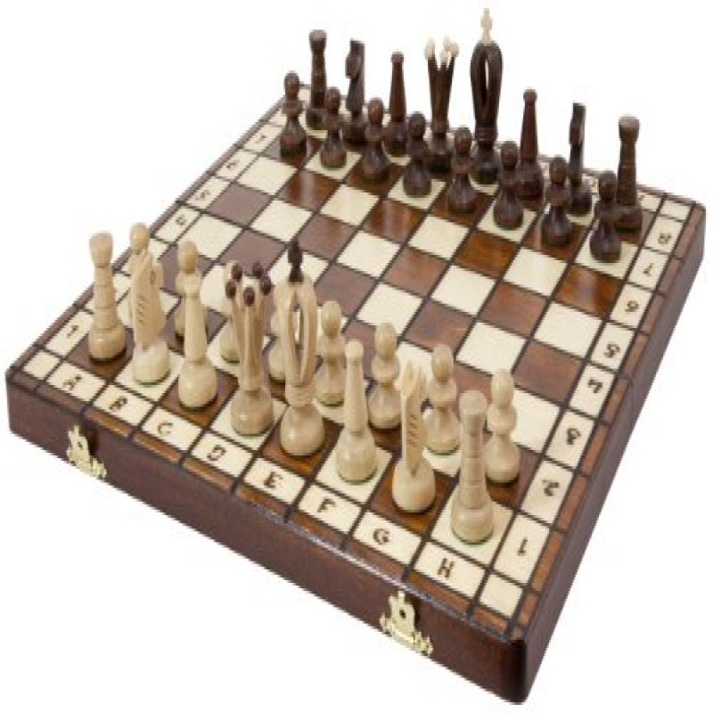 Royal 36 European Wood International Chess Set by