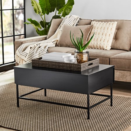 Mainstays Sumpter Park Coffee Table, Multiple Finishes](Center Table Decor)