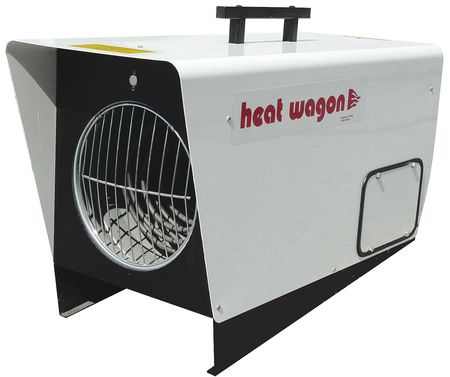 HEAT WAGON 18000 12000W Electric Salamander Heater, Fan Forced, 240V, P1800-1 by HEAT WAGON
