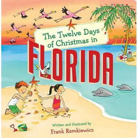 Christmas In America Book.Twelve Days Of Christmas In America The Twelve Days Of Christmas In Florida Board Book