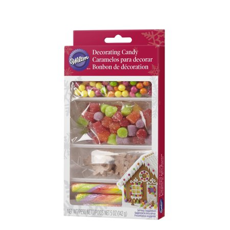 - Wilton Gingerbread House Candy Decorating Kit