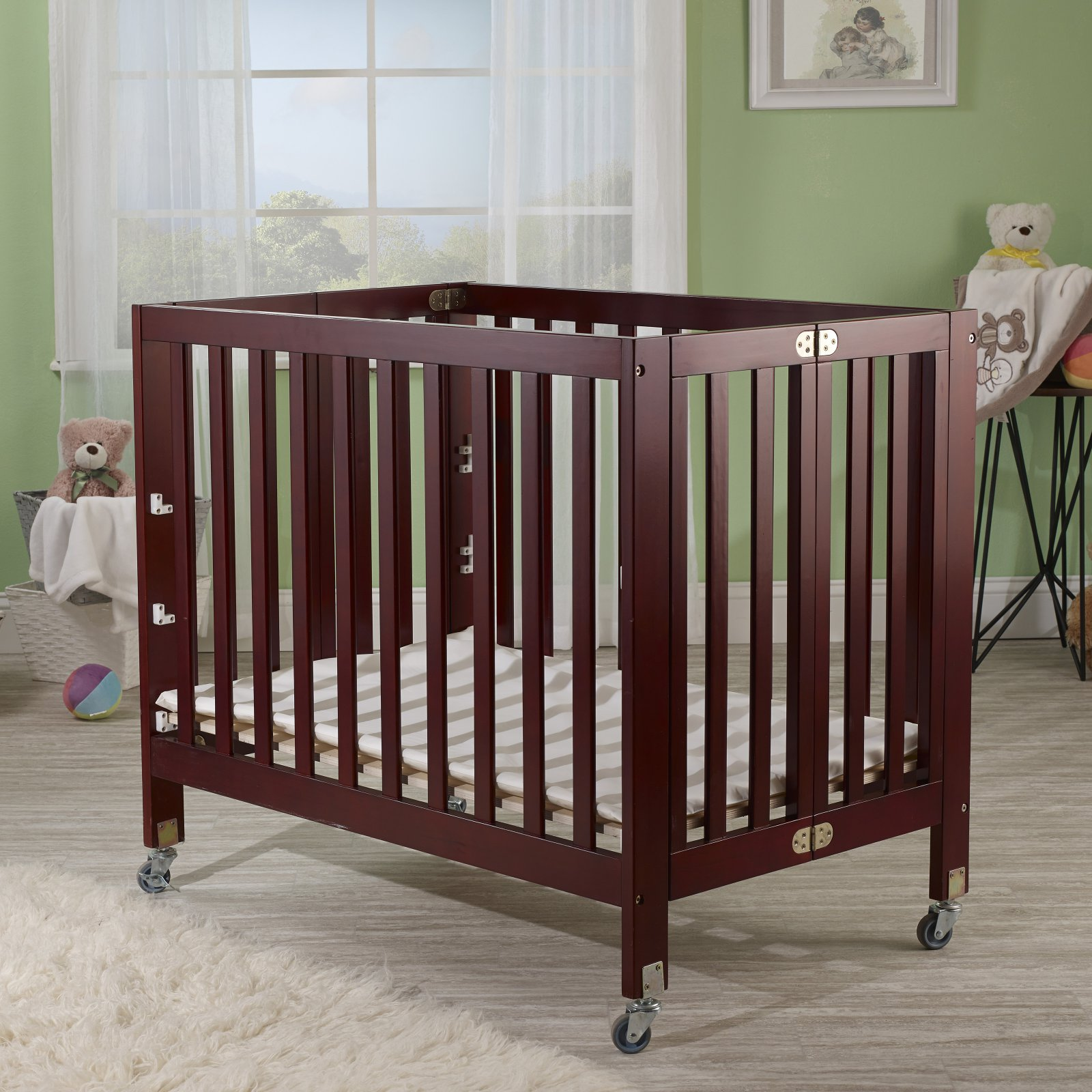 Orbelle Roxy 3-in-1 Mini Portable Crib by Orbelle